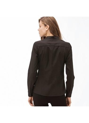 Lacoste Kadın  Gömlek CF2005.05S Siyah